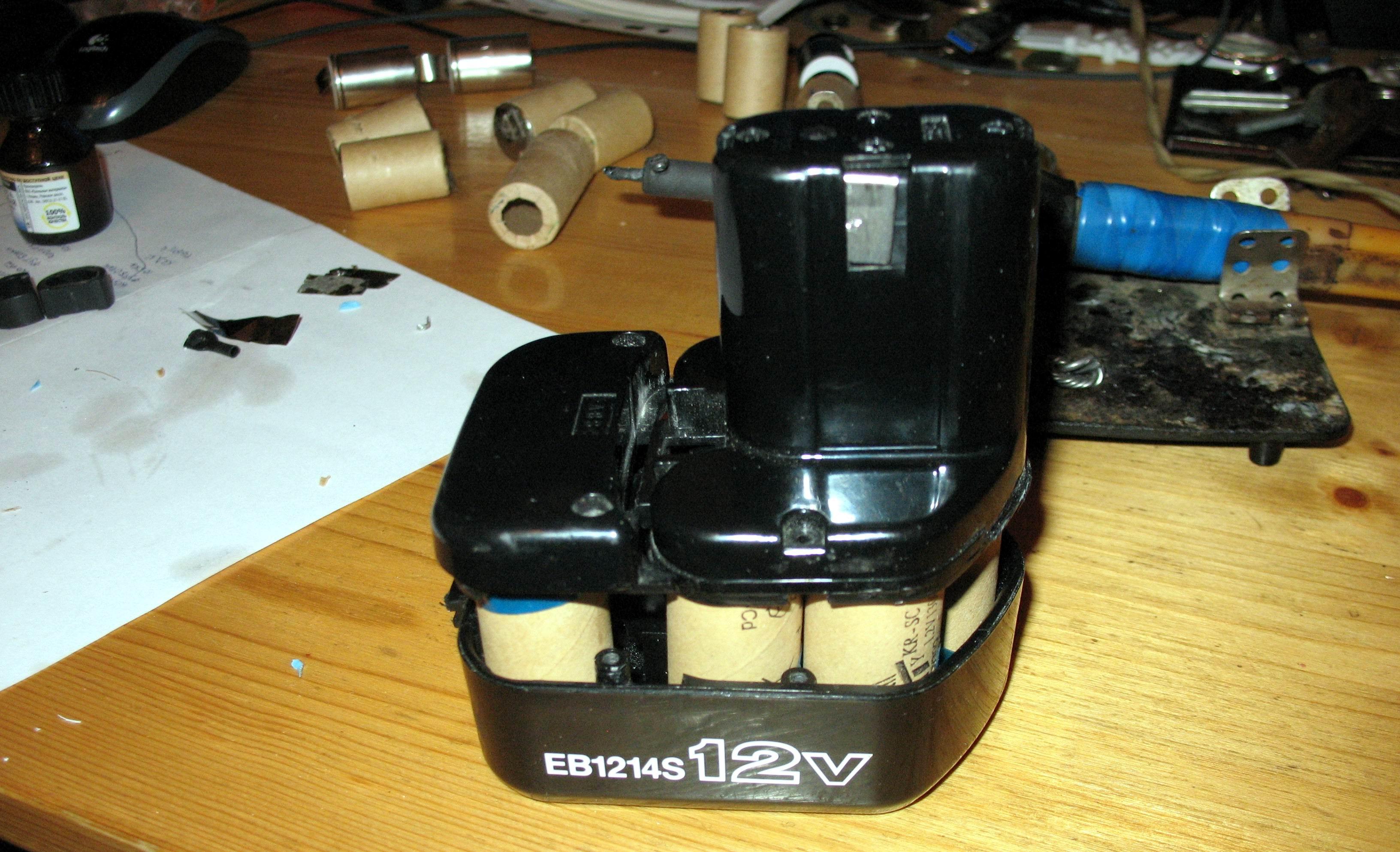 Ремонт аккумулятора шуруповерта своими руками хитачи 60