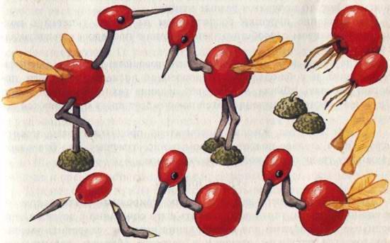Птицы (рис. 18)